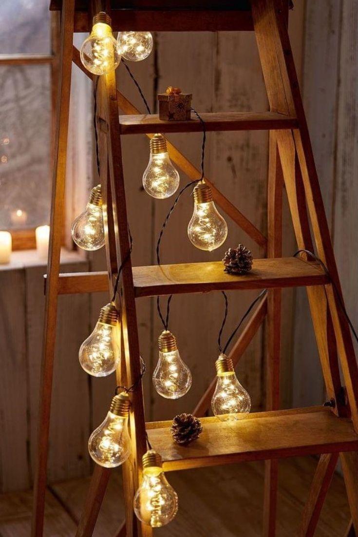 gem tlichkeit pur led lichterkette mit gl hbirnen. Black Bedroom Furniture Sets. Home Design Ideas
