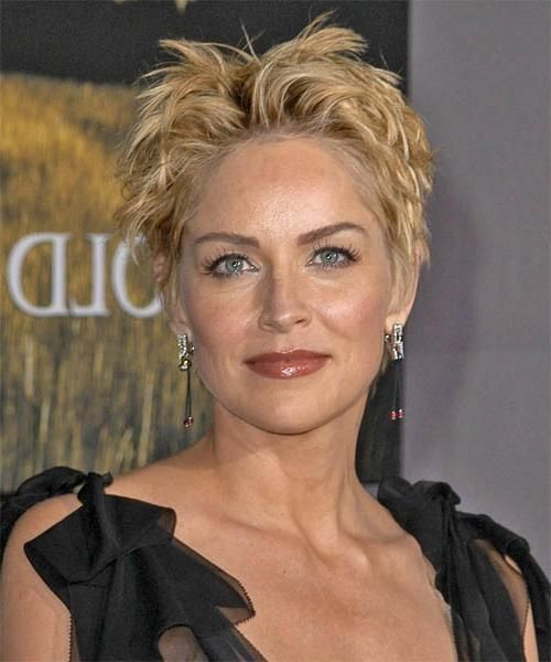 Inspirationen Sharon Stone Kurze Haarschnitte Egal Ob Sie Im
