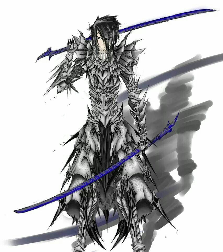 A fan art designed armor (With images) Monster hunter