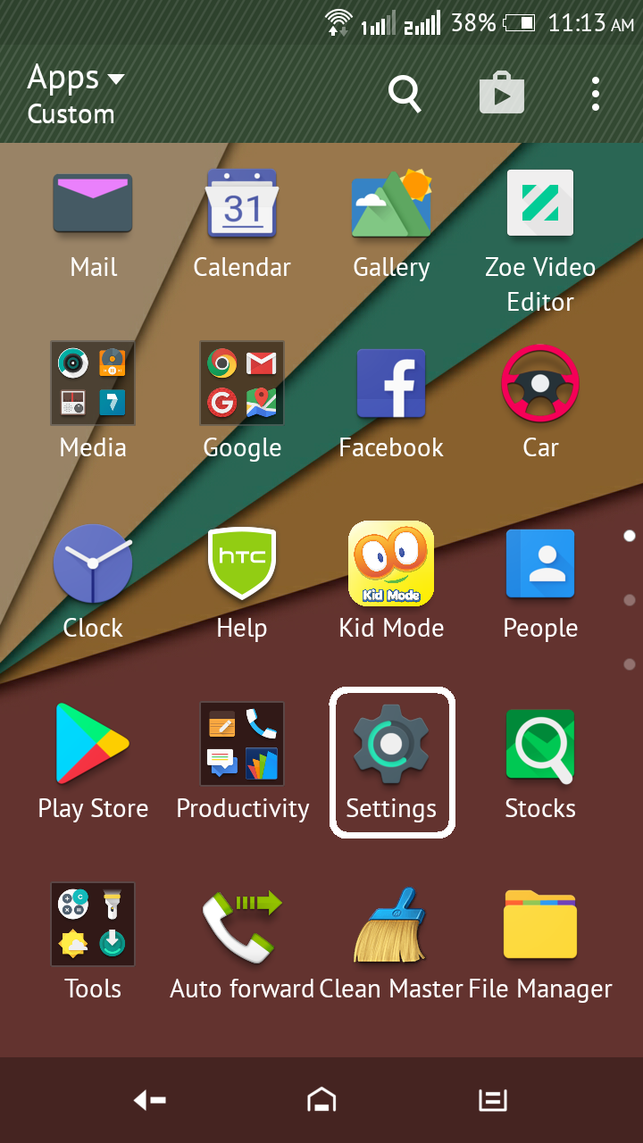 App Drawer in Andorid Phone (With images) Play store app