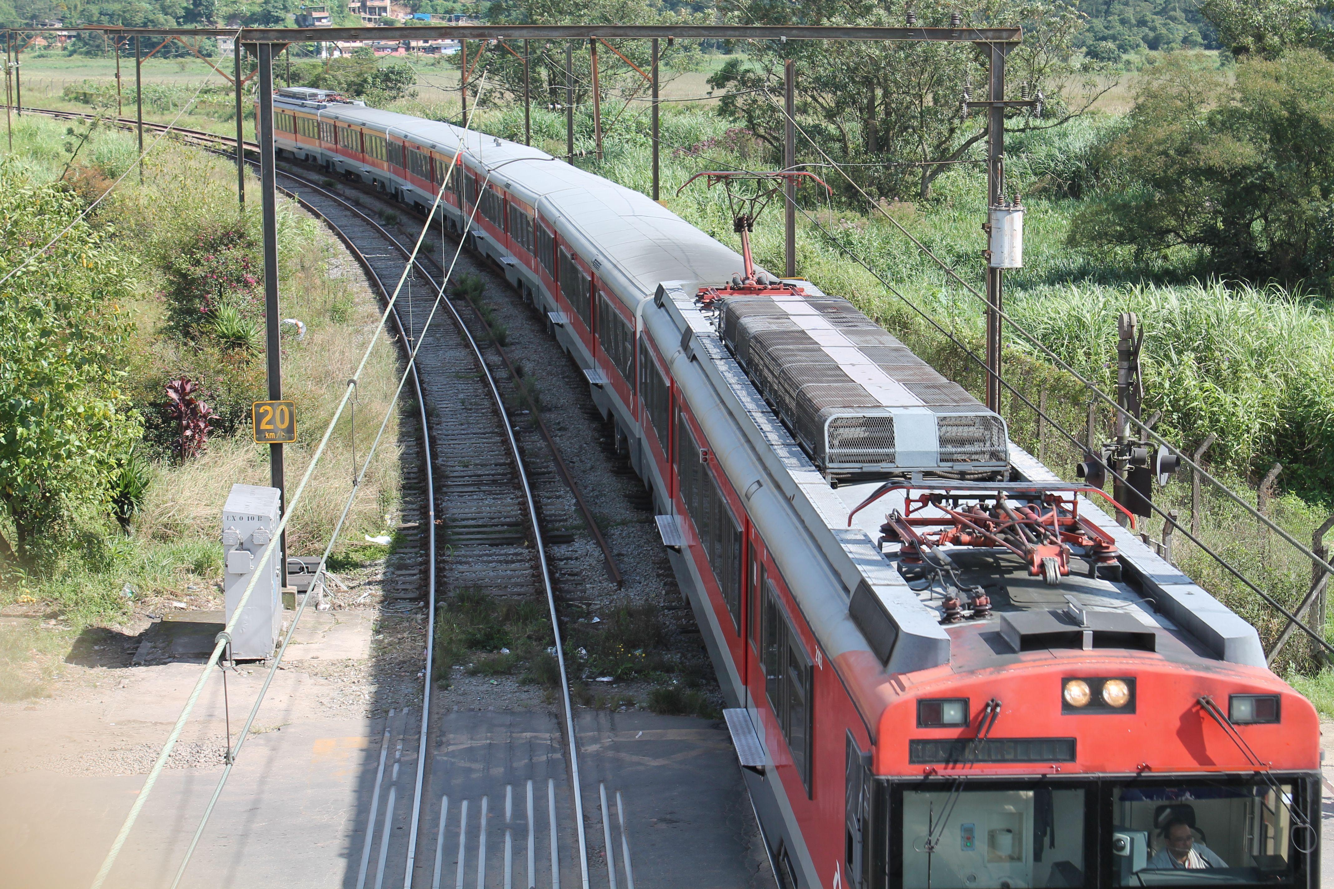 Paranapiacaba. Train. Brazil. SP.