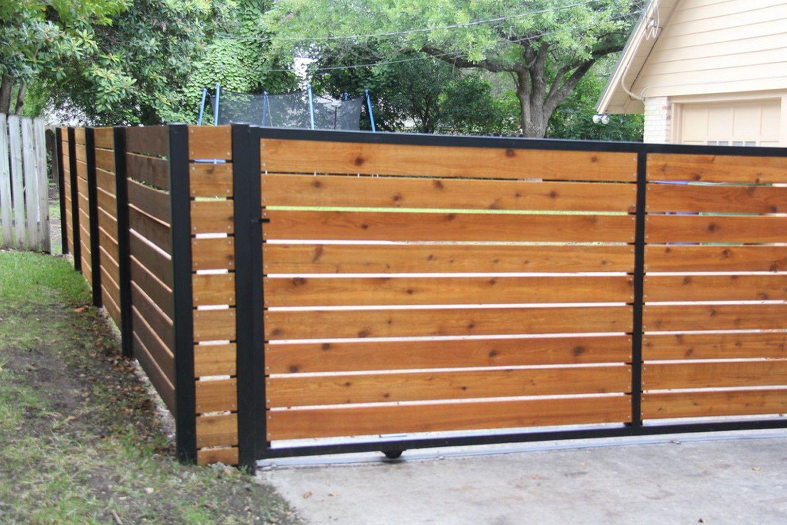 10 Tantalizing Backyard Garden Fencing Ideas Modern