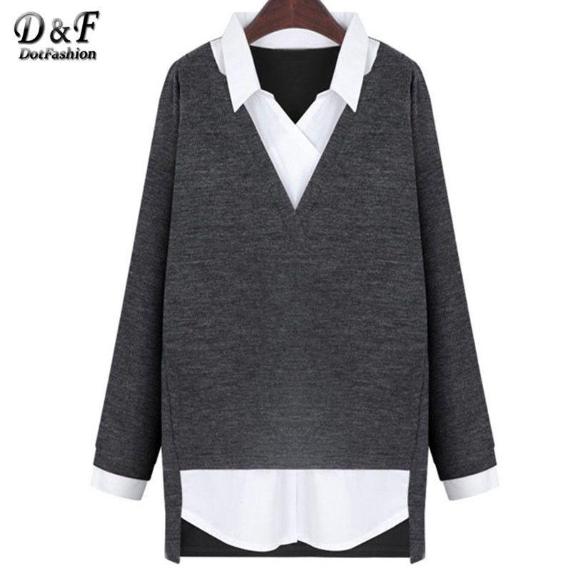 Encontrar Más Blusas y Camisas Información acerca de Ladies Work Wear ropa las…