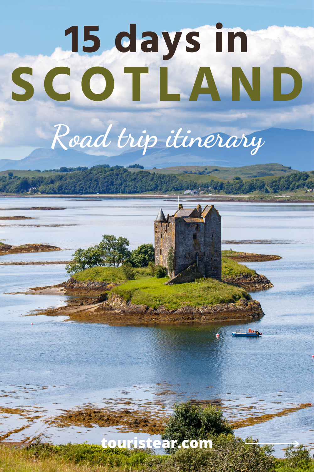 What to see in Scotland in 15 days. Road trip itinerary. Wild camping in Scotland, where to stay, best things to do.  #Scotland #roadtrip