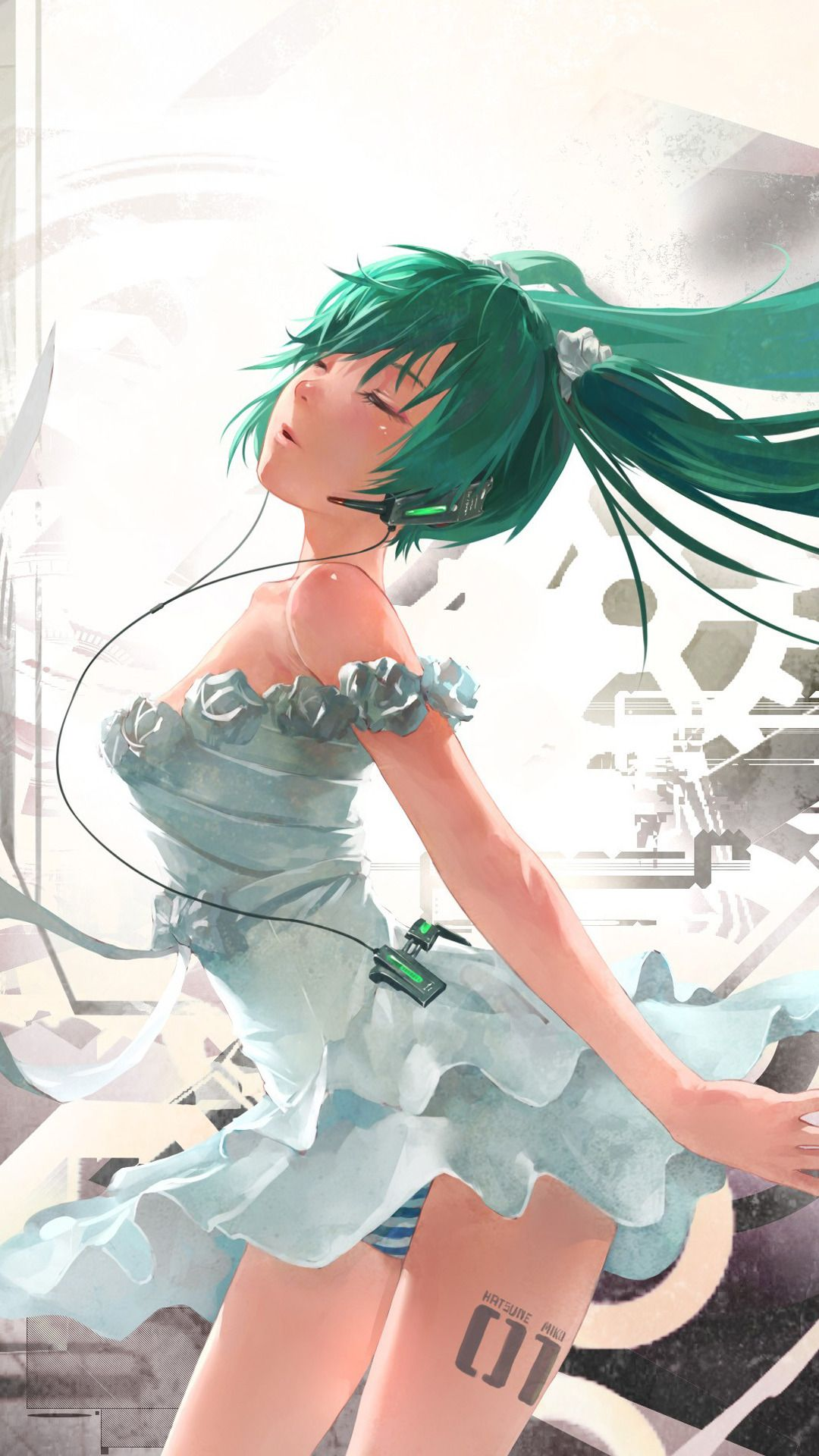Vocaloid iphone wallpaper tumblr - Hatsune Miku Vocaloid Anime Best Htc One Wallpapers