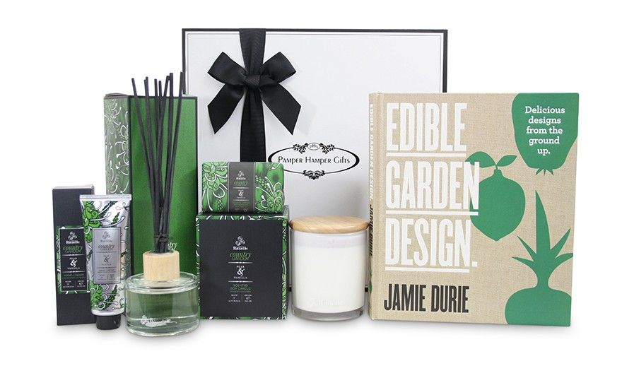 Pamper Hamper Gifts Jamie Durie Edible Garden Pamper Hamper