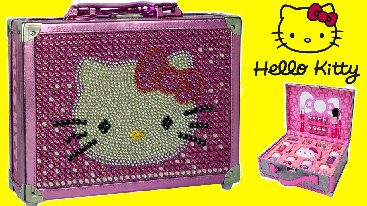 1d63dba38 Hello Kitty Special Edition Cosmetic Case Makeup Box for Kids Unboxing!!!