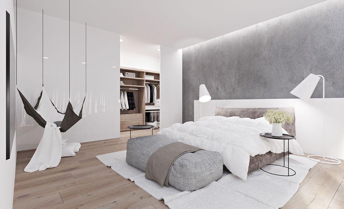 Einrichtung Schlafzimmer Interior Design Bedroom Türkis: 20 Helle, Weiße Schlafzimmer Für Ruhe Und Entspannung