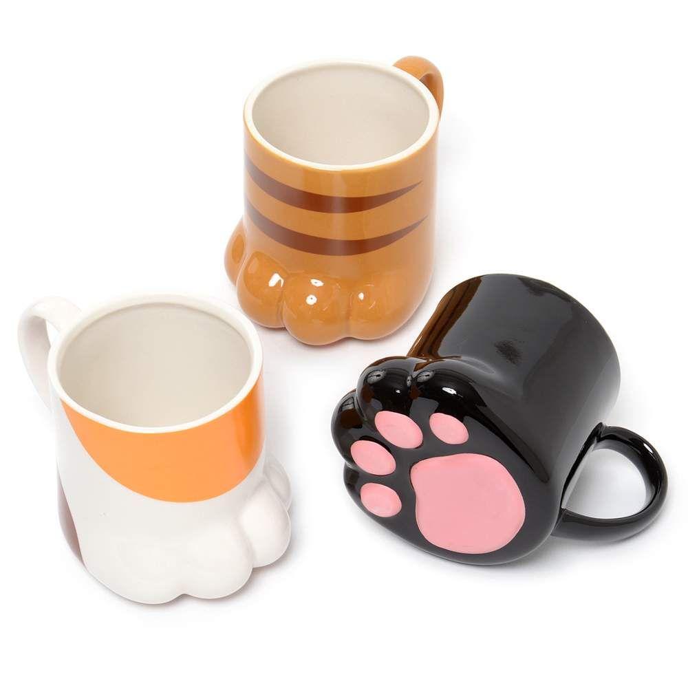 Cat Paw Mug Mugs Cat Cafe Cute Mugs