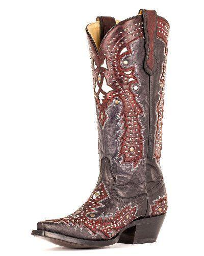 Unusual Cowboy Cowgirl Boot's Design   Enhörning