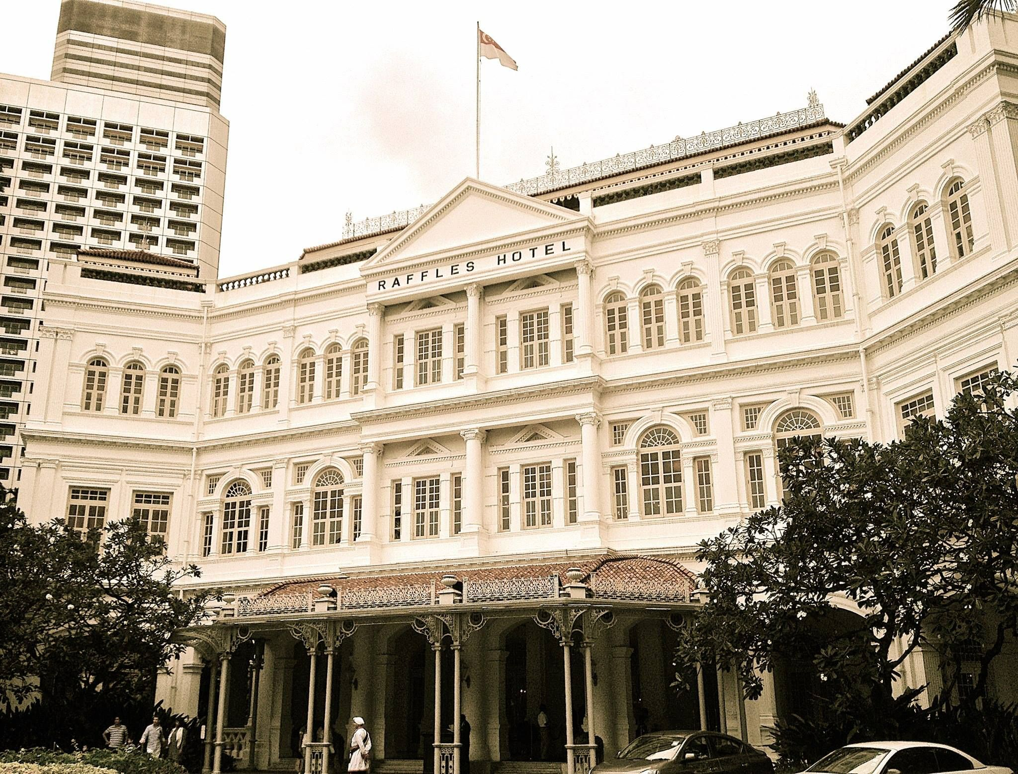 Raffles Hotel Singapore S Best Known Icon And Probably The World S Most Famous Hotel Singapore Hotels Beautiful Hotels Hong Kong Hotels
