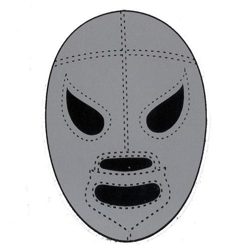 Santo Mask Sticker Mascaras Lucha Libre Folklore Mexicano Mascaras
