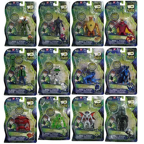 Ben 10 Alien Force Figures Wave 4 Case
