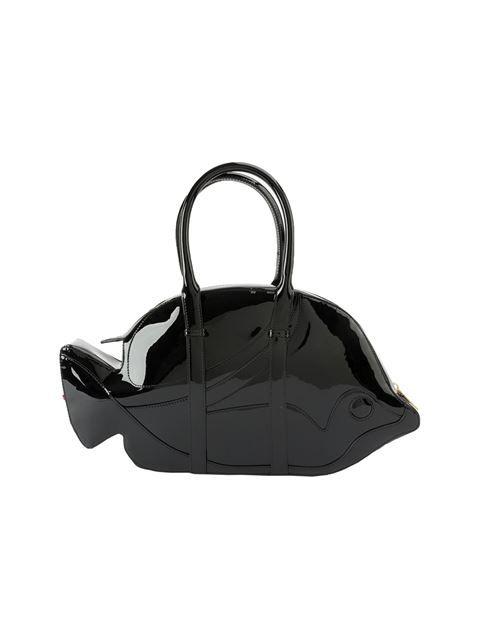 680ebf6c3 THOM BROWNE Fish Tote Bag. #thombrowne #bags #patent #hand bags #tote