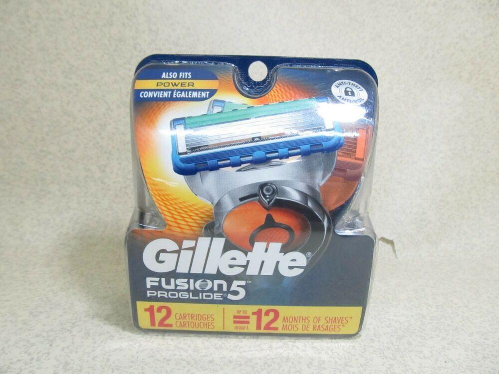 Ebay Sponsored Gillette Fusion 5 Proglide Razor Blades 12 Cartridges Shave Foam Shave Gel After Shave Balm