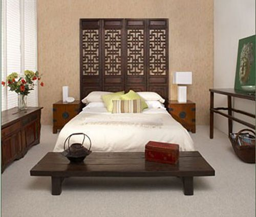 Chinese screens used as headboards | Screens | Pinterest | Screens ...