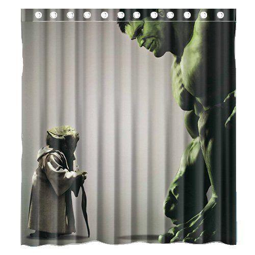 Amazon Com Custom Incredible Hulk And Star Wars Yoda Waterproof