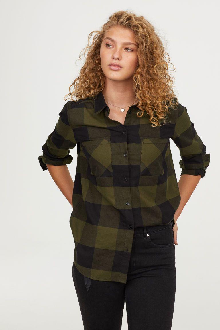 Dark green dress shirt  HuM Cotton Shirt  Green  clothes  Pinterest  Dark blue