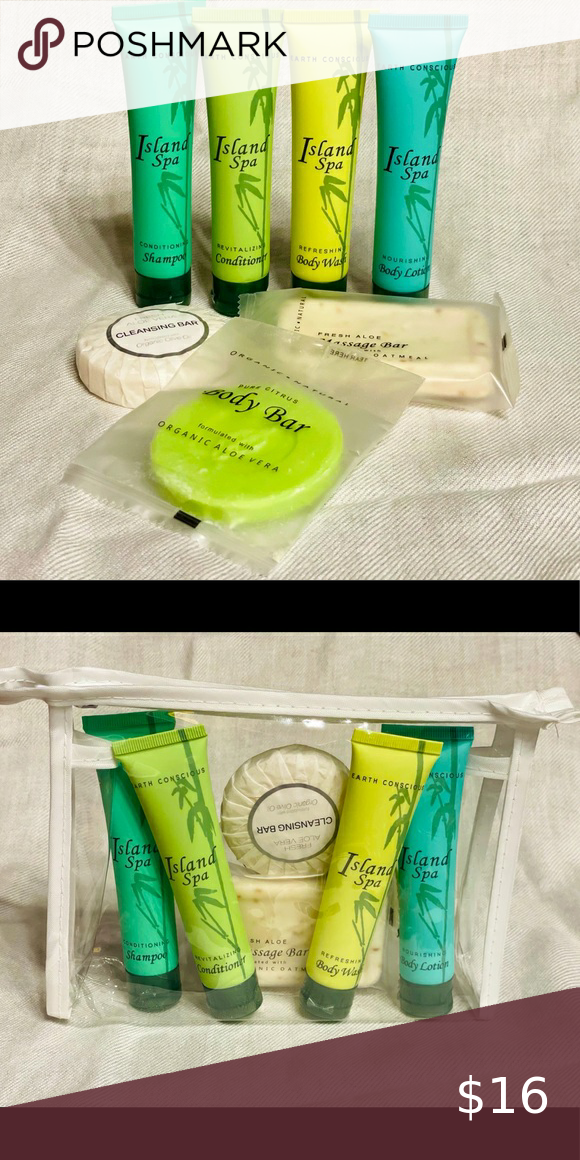 Island SPA All-In-Kit Travel Hotel Size Amenities