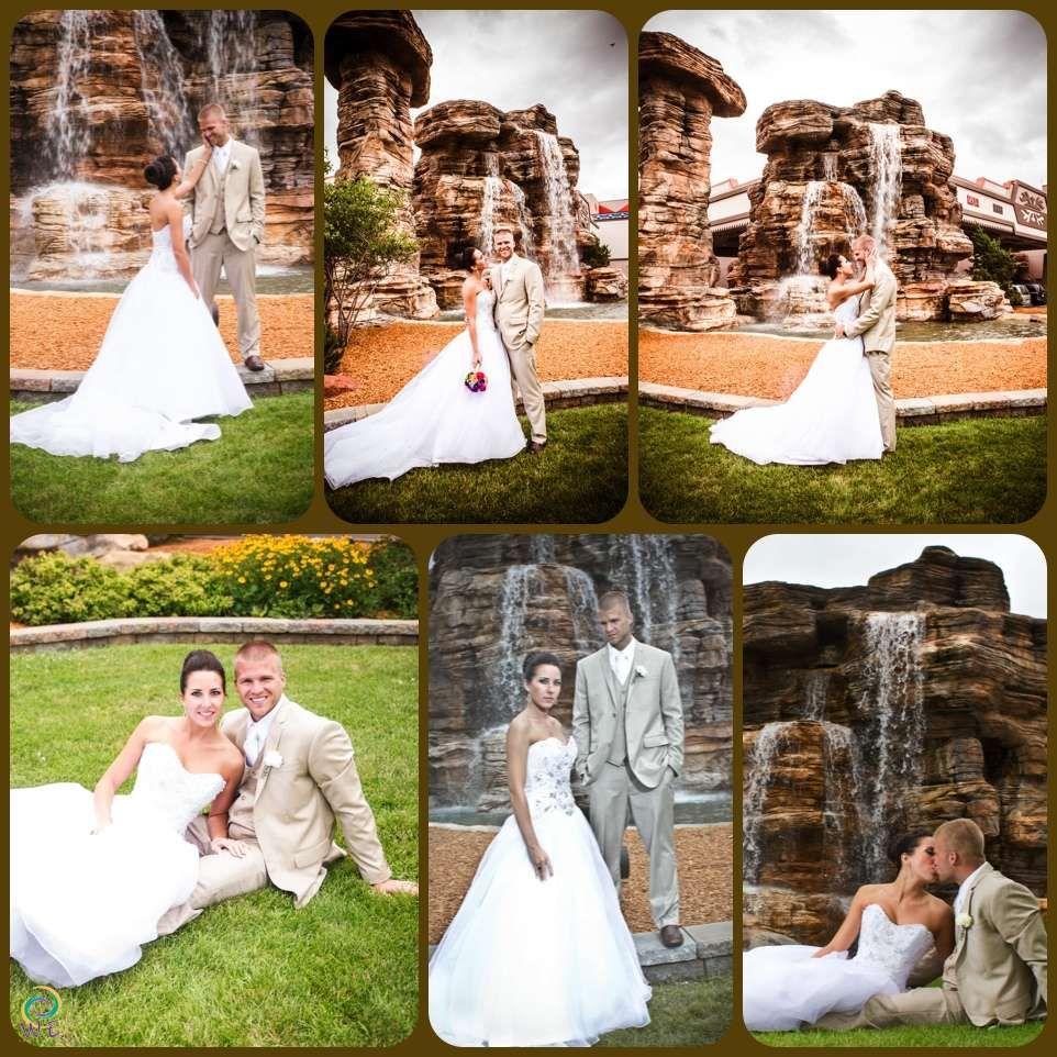 Wedding Portraits at Ho Chunk Resort and Casino in Baraboo, WI