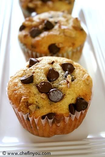 Easy muffin recipes chocolate chip