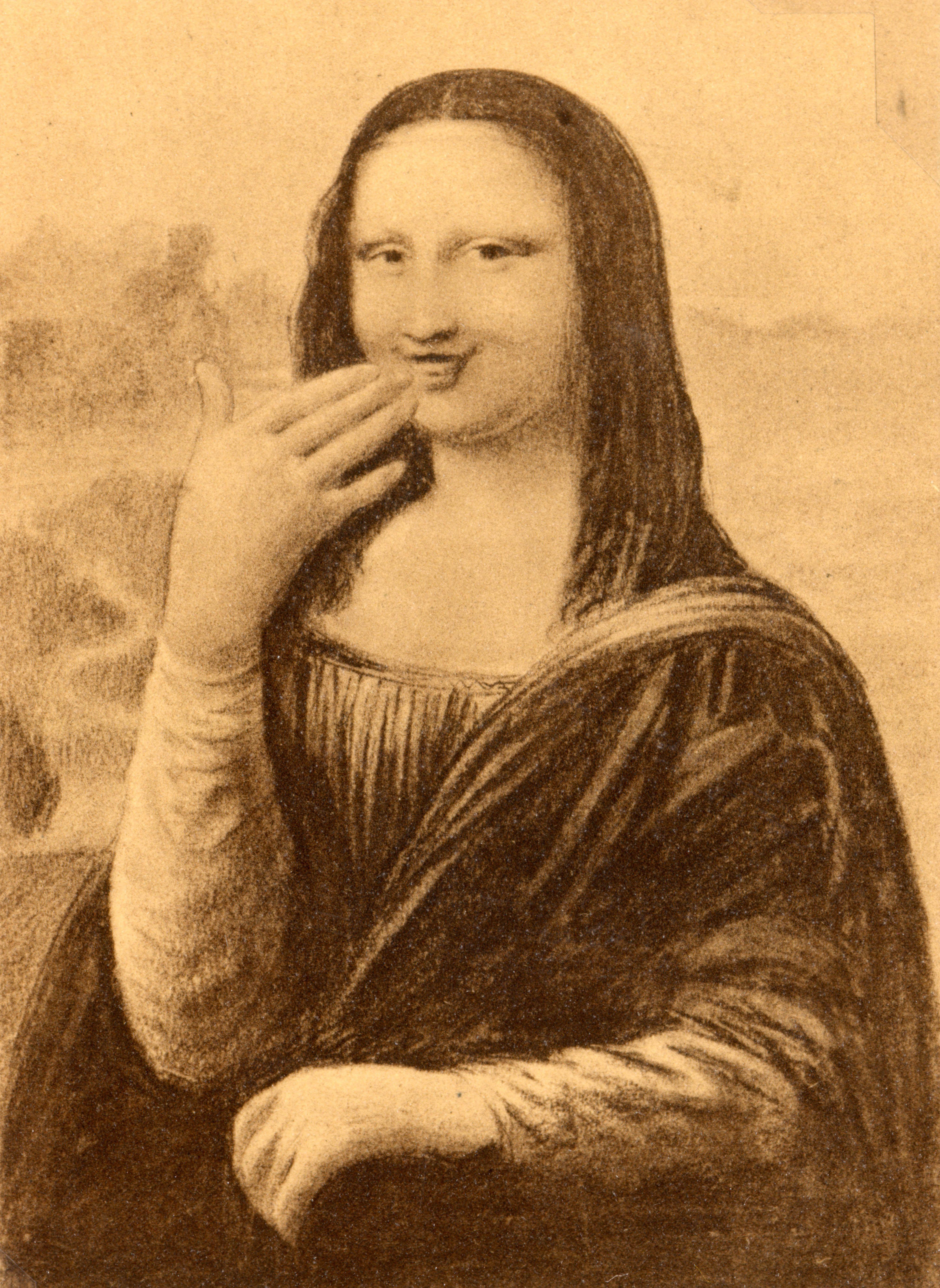 Pin On Mona Lisa Laughs