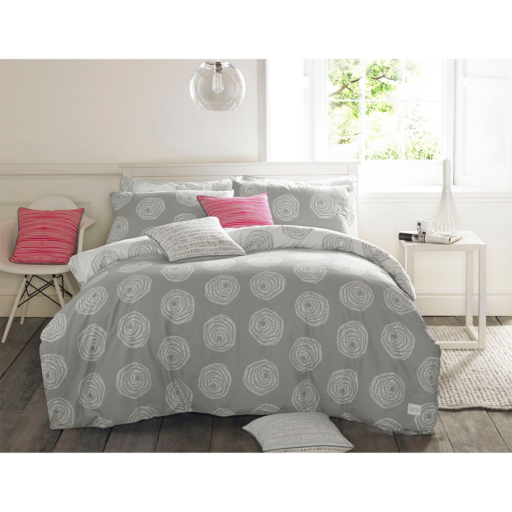 duvet overstock taped ivy ink free bath mini percale metallic reese today set cotton shipping product cover grey twill ruched bedding