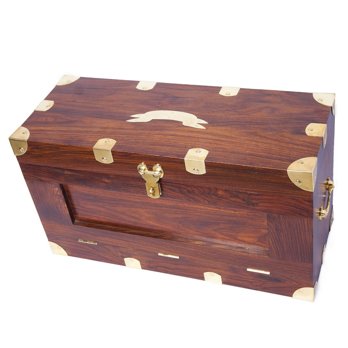Product Details Recreate The Under Canvas Ambiance In Your Own Home With Our British Campaign Wri Campaign Furniture How To Antique Wood Vintage Chest Trunk