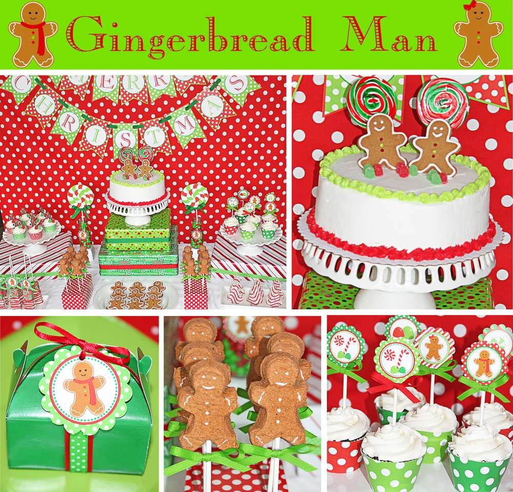 Gingerbread House Party Christmas Holiday Party Ideas Photo 1 Of 37 Gingerbread Party Gingerbread House Parties Gingerbread Birthday Party