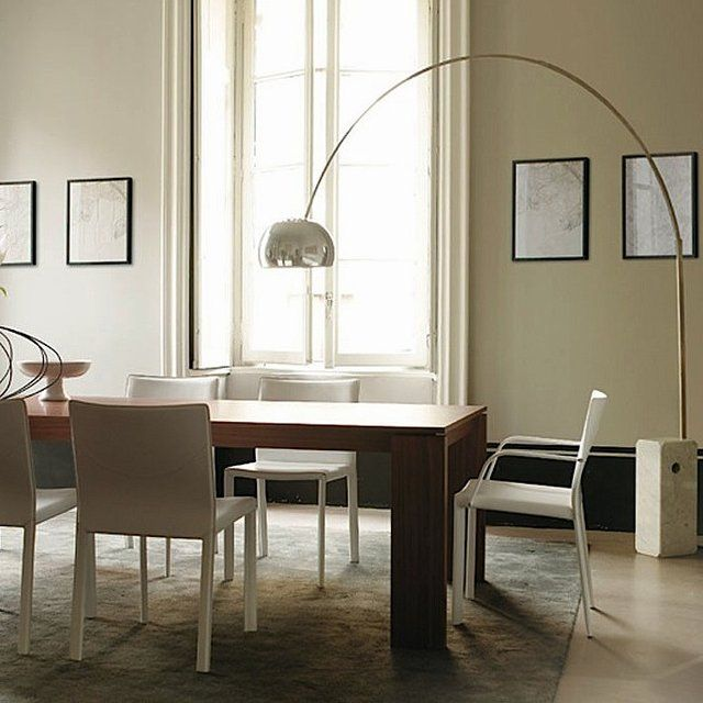 Flos Arco Lamp | Arco floor lamp, Floor lamp and Dining