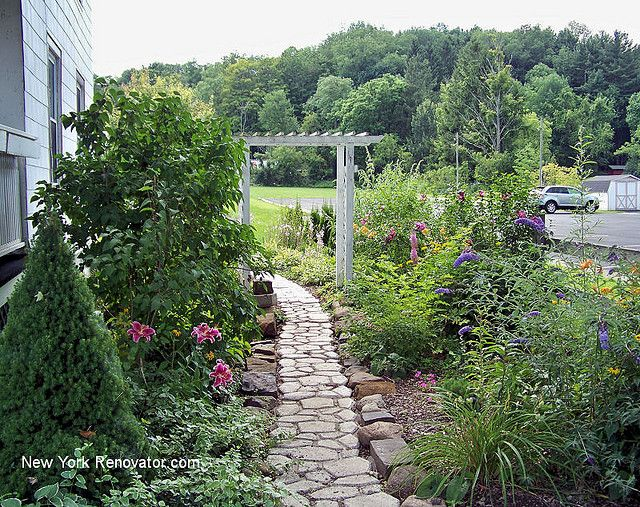 Secret Garden Blooming   Gardens, Garden ideas and Stone paths
