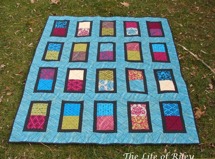 The Life of Riley: 2012 Quilt Finishes