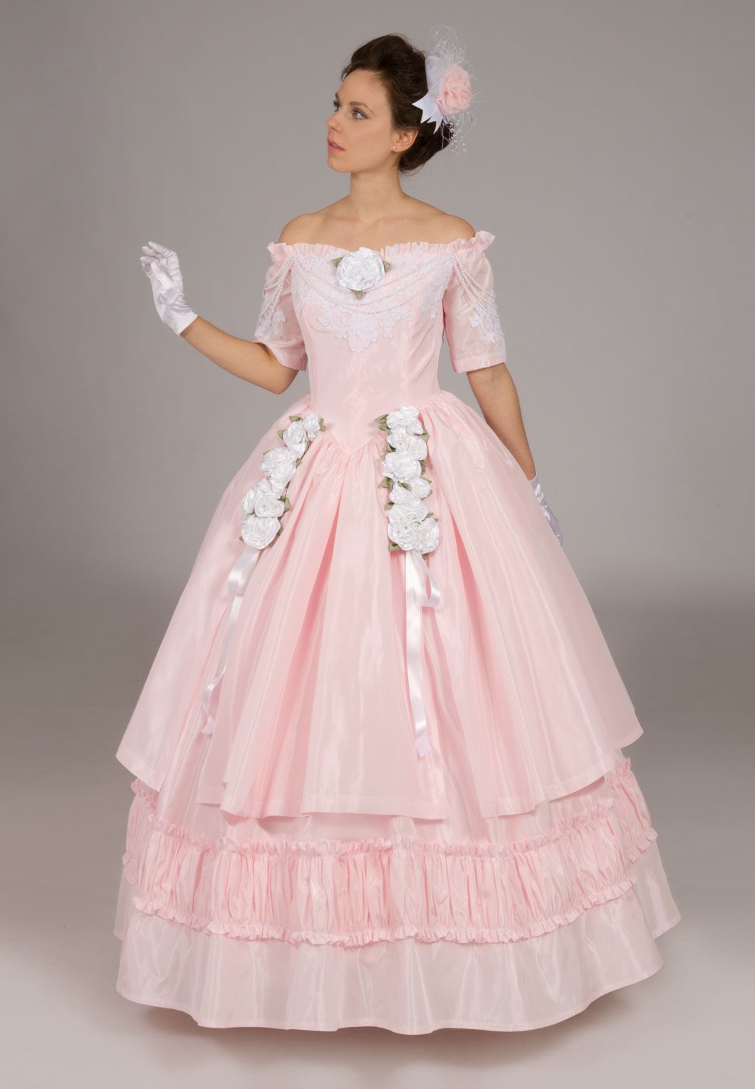 Victorian, Edwardian, and Civil War Ball Gowns | TRAJES DE BAILE ...