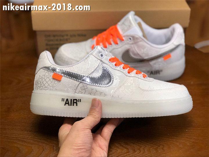 Nike Air Force 1 '07 LXX BlackMetallic Pewter Men's and Women's Size AO1017 001