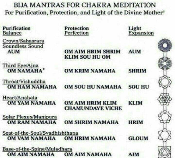 Beej Mantras for seven Chakra of body  | beej mantra | Yoga