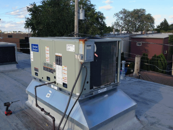 Do You Have A Commercial Rooftop Hvac Unit We Will Do A System Safety Inspection For 99 And Our Service Calls Are Hvac System Hvac Maintenance Hvac Services