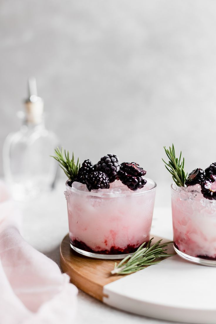 Photo of COCONUT ROSEWATER BLACKBERRY SMASH – Good Drink