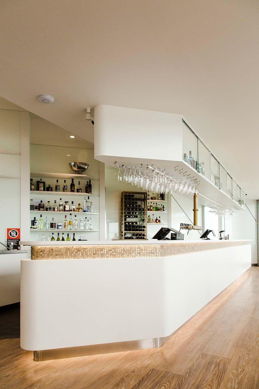 Battlesticks, Newcastle Corian, Open ceiling, Interior