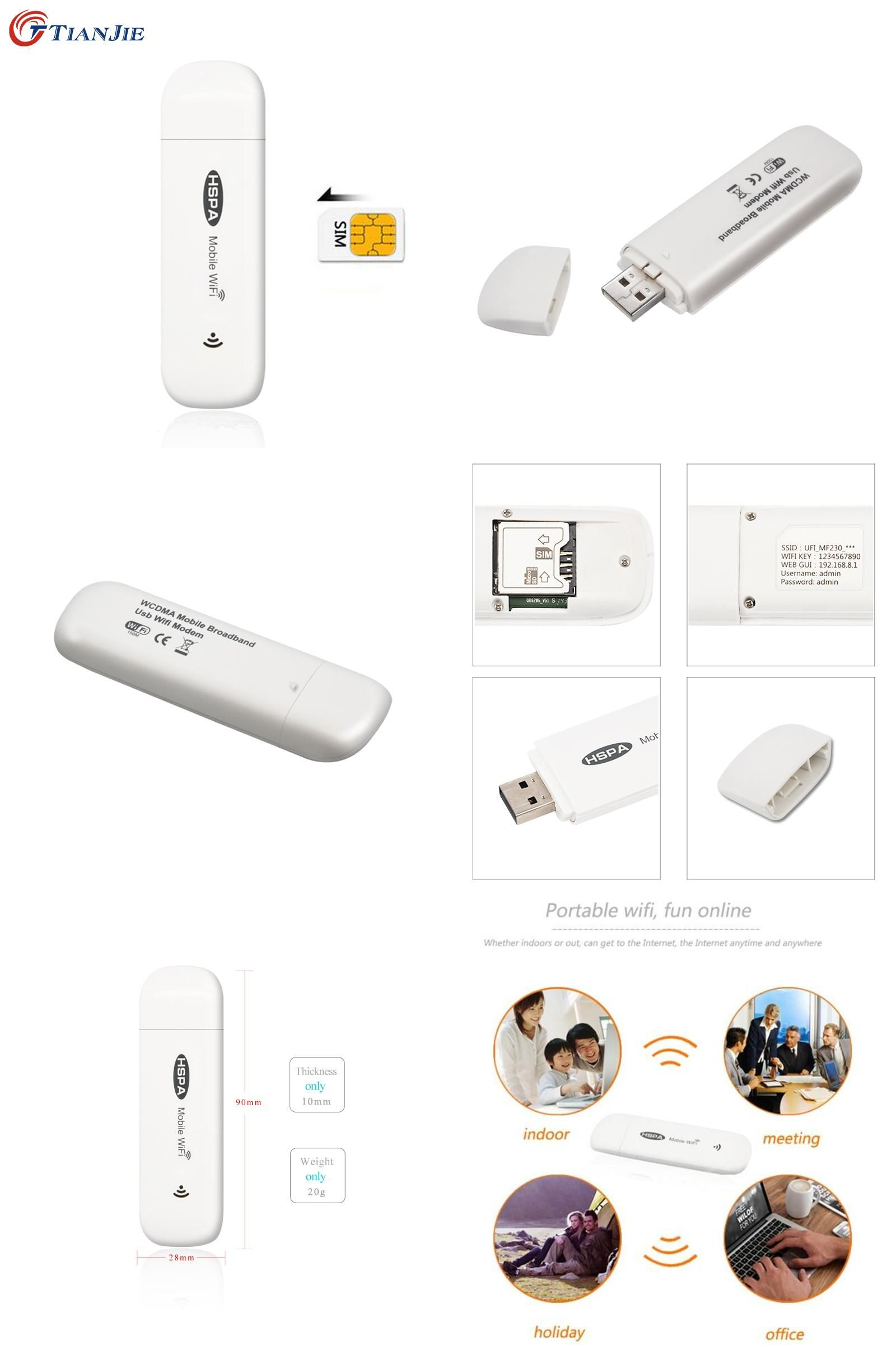Visit to buy 3g wifi router mifi dongle mini wireless