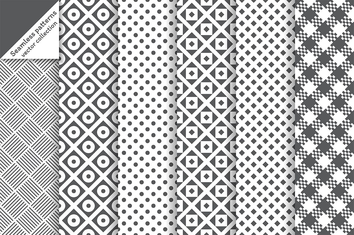 Classic vector seamless backgrounds by baretsky on @creativemarket