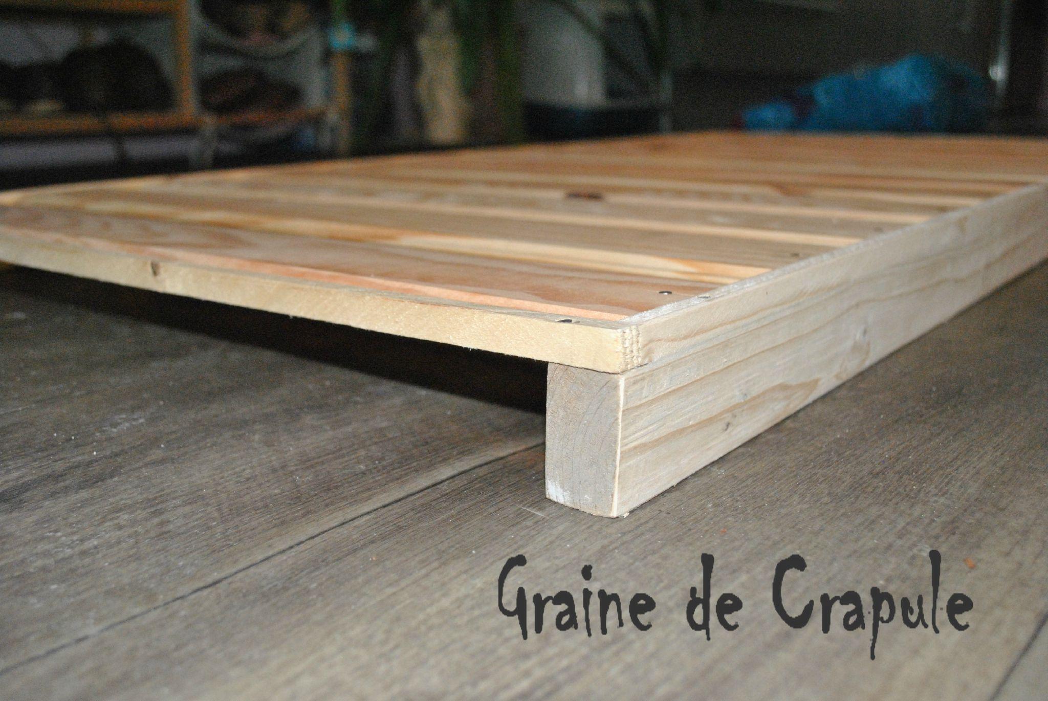 lit au sol version montessori graine de crapule baby floor bed floor bed frame - Sommier Lit
