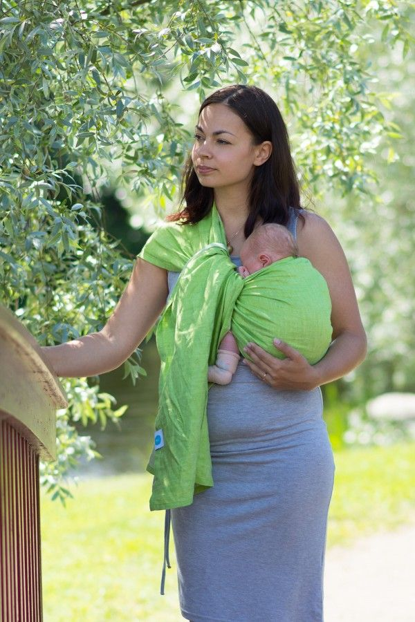 Parakeet Linen Ring Sling Bring Some Exuberance To Your Day With