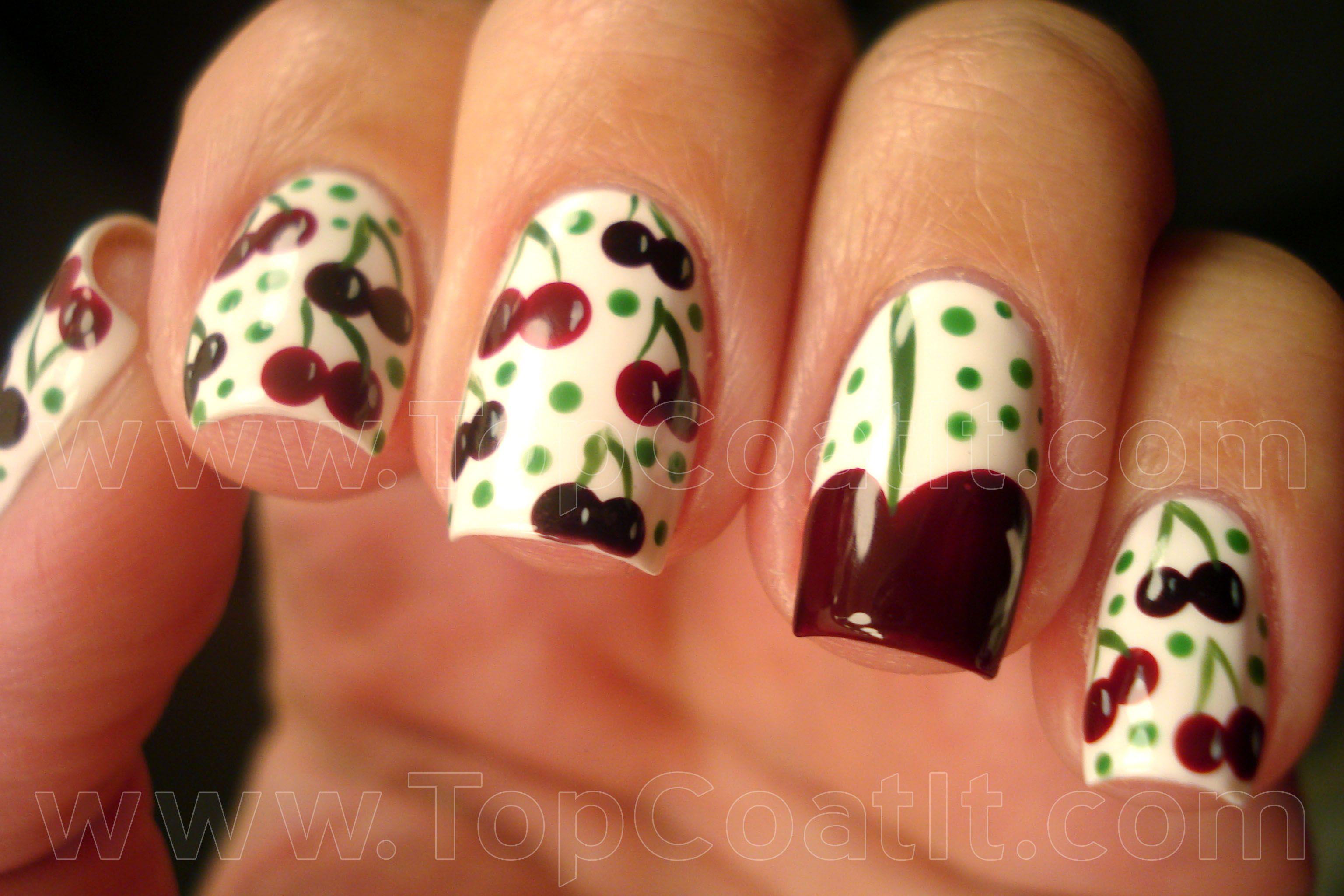 Cherries (in the snow?)