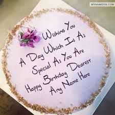 Image Result For Birthday Cakes Happy Birthday Cake Cake Name
