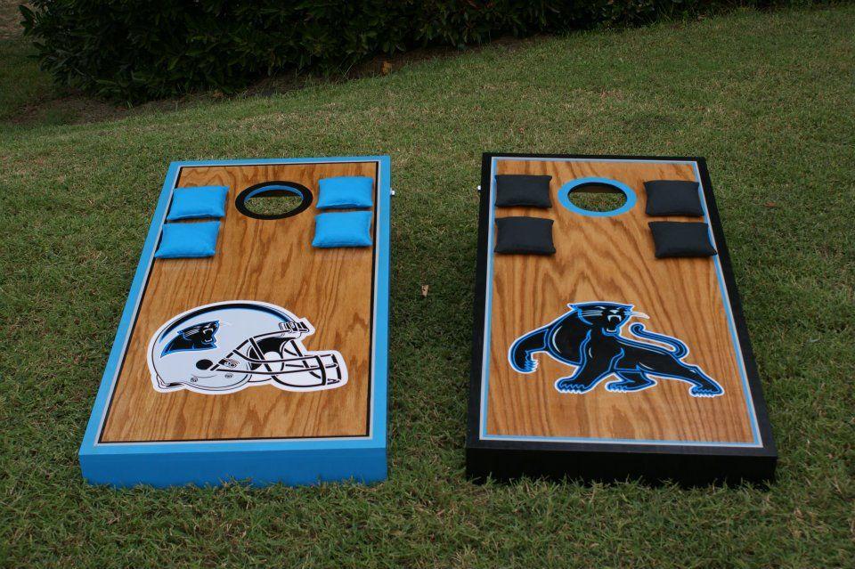 Carolina Panthers Cornhole Www Facebook Com Cornontheboard