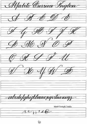 exercicios de caligrafia - Pesquisa Google
