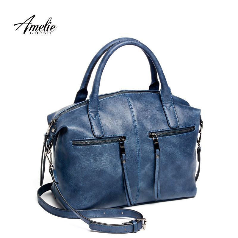 afcca5efaf9    22.14   AMELIE GALANTI fashion women bag brand with pillow high quality  PU handbag solid shoulder messenger bags brand new freeshipping