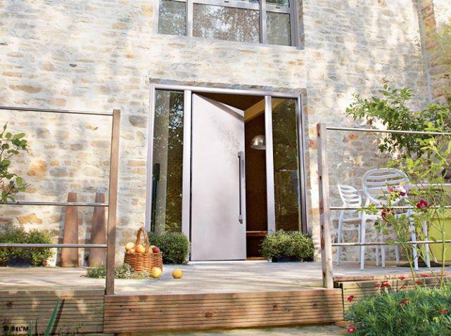 Comment Rénover Une Grange Avec Succès Grange Rénovée Porte - Porte placard coulissante jumelé avec comparatif portes blindées
