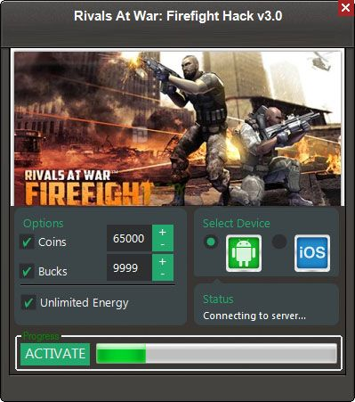 Rivals At War Firefight Hack Tool (Android/iOS) Rivals At War