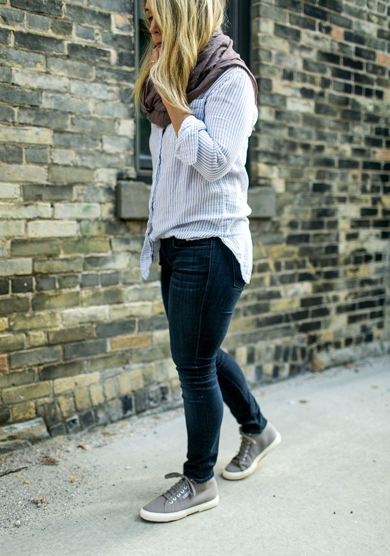 64ac29698662 How to wear high tops 3 ways with Superga and Zappos.  sponsored  zappostyle